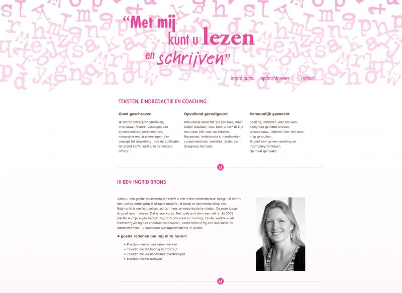 Ingrid Brons_website